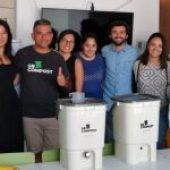 Sr. Compost en VGC: El residuo orgánico no es basura.