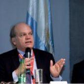 Patricio Walker en el II Congreso de Justicia Ambiental y Desarrollo Sostenible de Sudamérica.