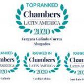 Chambers and Partners Latinoamérica 2020